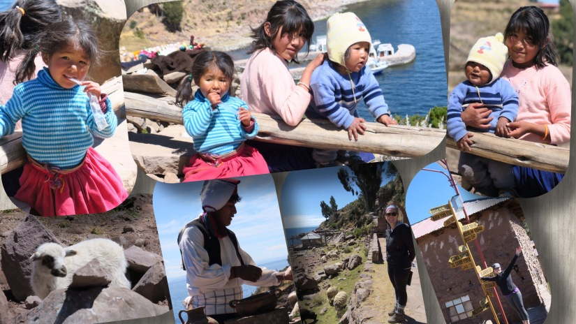 Lake Titicaca and the Floating Reed Islands(Uros)